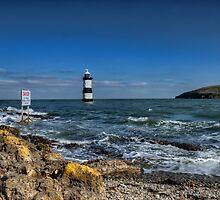 Penmon Lighthouse by Darren Wilkes