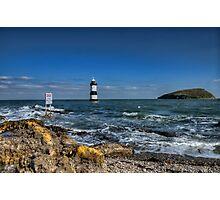 Penmon Lighthouse Photographic Print