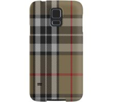01484 Thomson Camel Fashion Tartan Fabric Print Iphone Case Samsung Galaxy Case/Skin