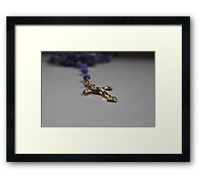 Rosary Beads Framed Print