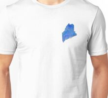 Maine State Watercolor Unisex T-Shirt