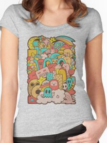 Doodleicious Women's Fitted Scoop T-Shirt