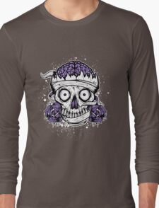Skulls and Brains Long Sleeve T-Shirt