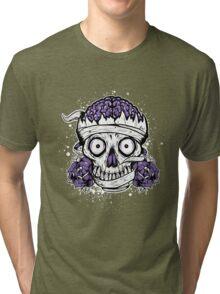 Skulls and Brains Tri-blend T-Shirt