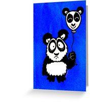 Just a Panda Greeting Card