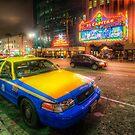 Hollywood Taxi by Yhun Suarez