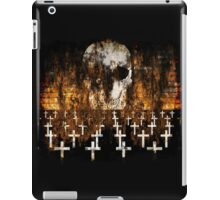 Skull, Graveyard, Grunge, Goth, Creepy Artwork iPad Case/Skin