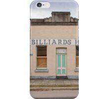 Billiards Hall, Chiltern iPhone Case/Skin