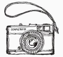 Olympus Trip 35 Film Camera by strayfoto