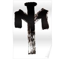 Macromannic Runes Z Ziu 002 Poster