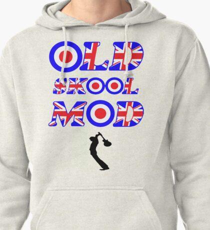 OLD SKOOL MOD - BLACK Pullover Hoodie