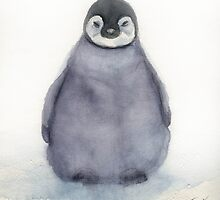 Baby Penguin by Marilou  Frias