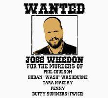 Joss Whedon: wanted T-Shirt
