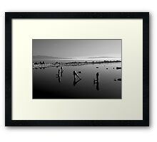 Salton Sea Early Morning  Framed Print