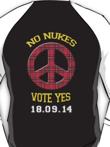 No Nukes Scottish Independence T-Shirt T-Shirt