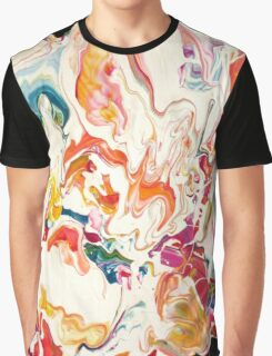 Colorful Psychedelic Art  Graphic T-Shirt