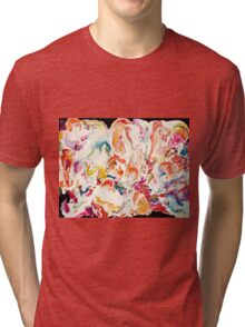 Colorful Psychedelic Art  Tri-blend T-Shirt