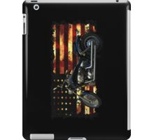 Cool Union Flag, Stars and Stripes, Motorcycle iPad Case/Skin