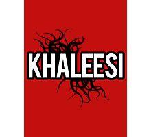 Khaleesi [black] Photographic Print