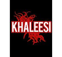 Khaleesi [red] Photographic Print