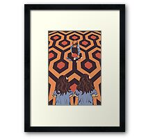 The Shining Room 237 Danny Torrance  Framed Print