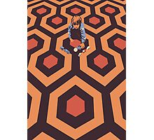 The Shining Screen Print Movie Poster  Photographic Print
