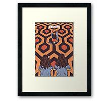 The Shining Room 237 Danny Torrance  Framed Print
