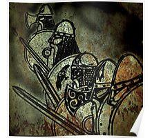 Shield wall Poster