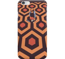 The Shining Screen Print Movie Poster  iPhone Case/Skin