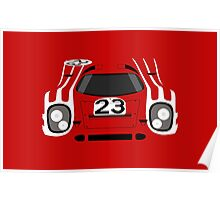 917 #23 Racing Livery Poster