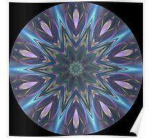Purple Streaks 01 Poster
