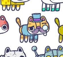 Assorted Hackycats Sticker