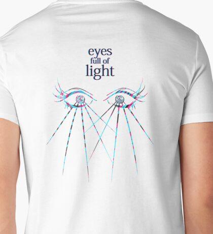 EYES FULL OF LIGHT Mens V-Neck T-Shirt