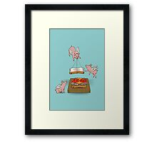 Make Me A Sandwich Framed Print