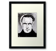 Me Who Has Commanded Nations Framed Print