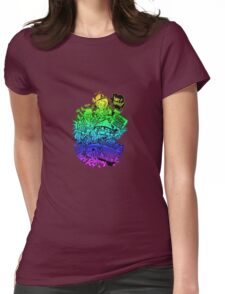 Have it your way - rainbow. Womens Fitted T-Shirt