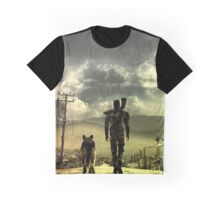 Fallout great shade wasteland view Graphic T-Shirt