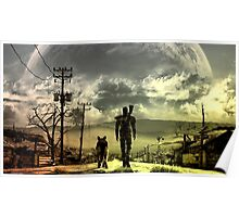 Fallout great shade wasteland view Poster