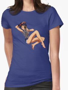 Misato -  Neon Genesis Evangelion Womens Fitted T-Shirt