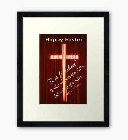Happy Easter..... Framed Print