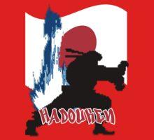 hadouken in japan One Piece - Short Sleeve