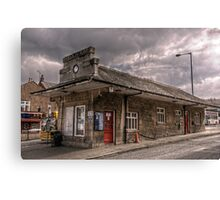 Bus Station Canvas Print