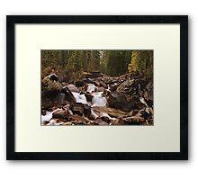 Where the Rivers Meet Framed Print