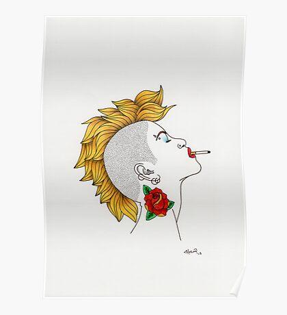 Punk girl 01 Poster