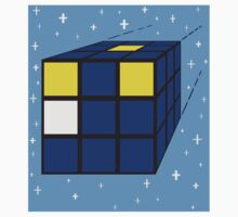 Time and Relative Dimensions in Squares (sticker & card) by Kellyanne