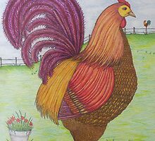 """""""Henny Penny"""" by franticflagwave"""