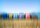 Beach Huts by Nigel Bangert