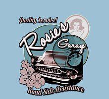 Rosie's Garage Womens Fitted T-Shirt