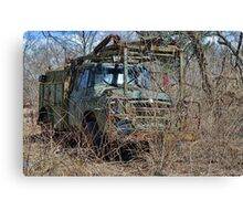 old military vehicle? Canvas Print