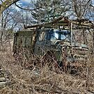 old military vehicle 2? by Kathleen Small Wilkie